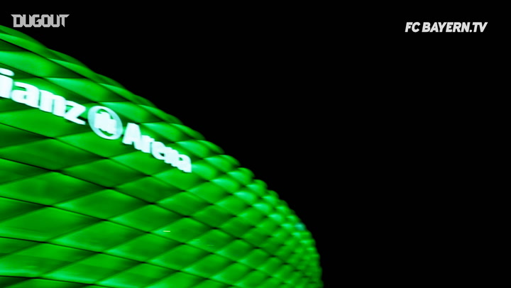 The Allianz Arena Lights Up For St Patricks Day