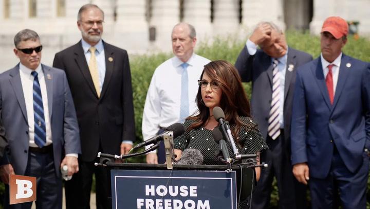 GOP Rep. Boebert: Liz Cheney, Adam Kinzinger