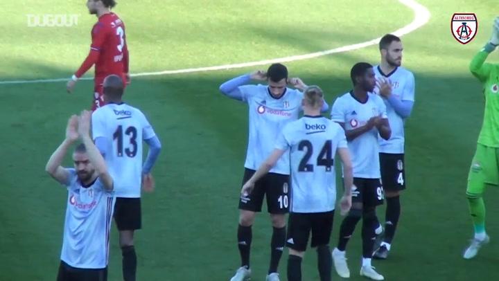 Altınordu 2-2 Beşiktaş Maç Özeti