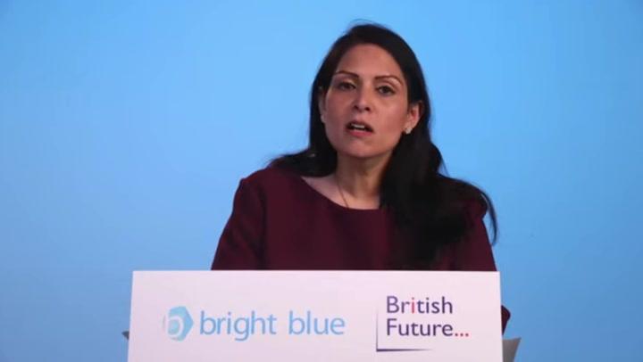 Priti Patel announces 'fully digital' border to overhaul 'broken' UK immigration system