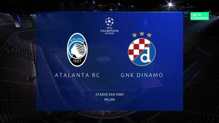 Champions League: Resumen y Goles del Atalanta - Dinamo Zagreb