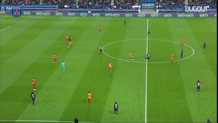 Javier Pastore's incredible goal vs Lens in 2015
