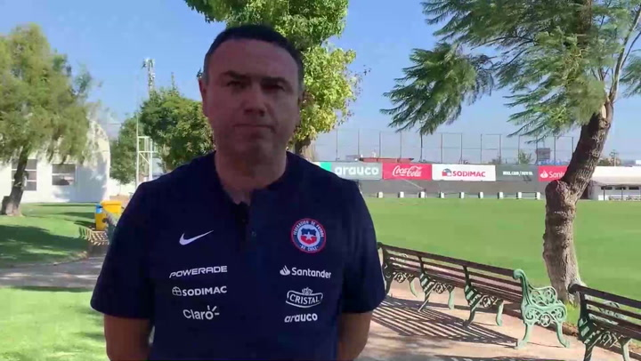Lasarte comienza su primer ciclo de entrenamientos con la selección chilena