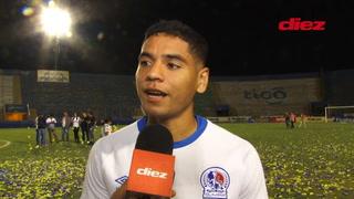 Carlos Pineda habla sobre su contrato y el futuro en Olimpia