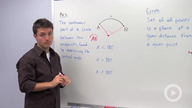 Parts of a Circle - Problem 1