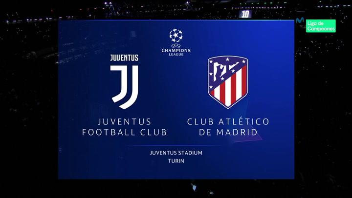 Champions League: Resumen y Goles del Juventus - Atlético