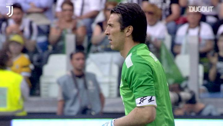 Buffon makes stunning saves to deny Cagliari