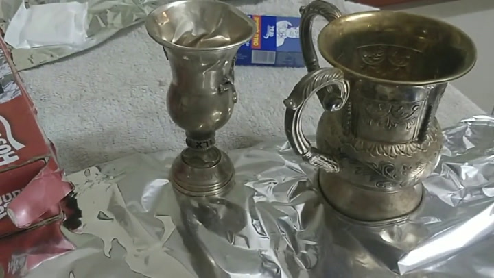 Silver Polished in Seconds!