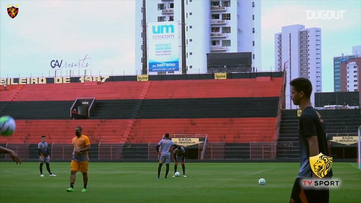 Sport Recife continue to train ahead of the Brazilian Championship start