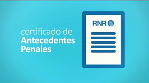 Se puede obtener on line el certificado de antecedentes penales