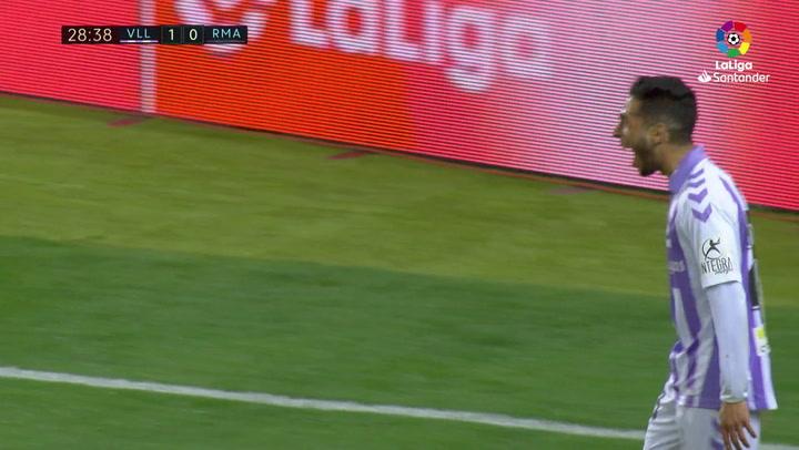 LaLiga: Valladolid-Real Madrid. Gol de Anuar (1-0)