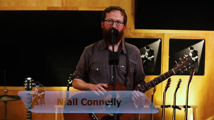 Niall Connolly performs Inland To Mercy on The Jimmy Lloyd Songwriter Showcase