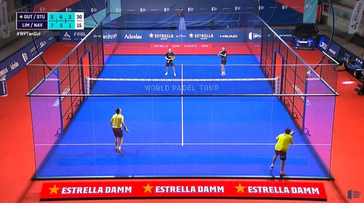 ¡Qué barbaridad! El que puede ser el mejor punto de torneo en la semifinal entre Paquito Navarro y Pablo Lima frente a Franco Stupaczuk y Sanyo Gutiérrez