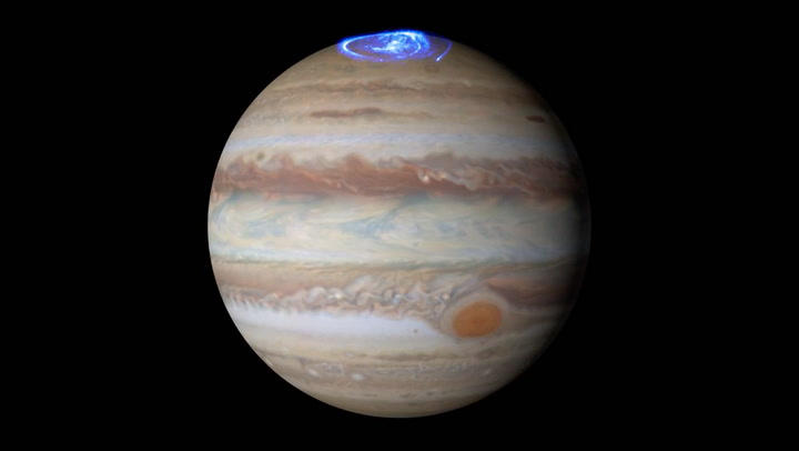 Se nordlysets dans med Jupiter