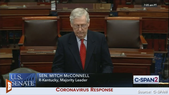 McConnell: Dems 'Holding Paychecks Hostage' by Blocking $250B for Small Biz