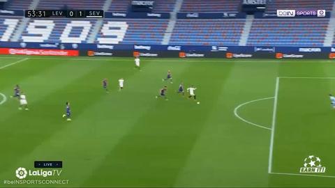 Levante 0-1 Sevilla (Liga Española)