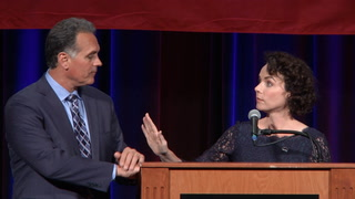 Amy Tarkanian gives passionate speech after husband's election loss