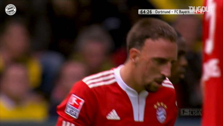 Free-Kicks: Franck Ribéry Vs Dortmund