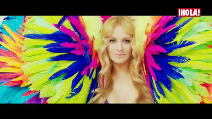 Así ha disimulado Paulina Rubio su embarazo en su nuevo videoclip