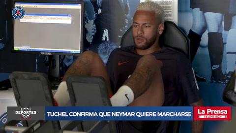 Tuchel confirma que Neymar ha pedido marcharse del PSG