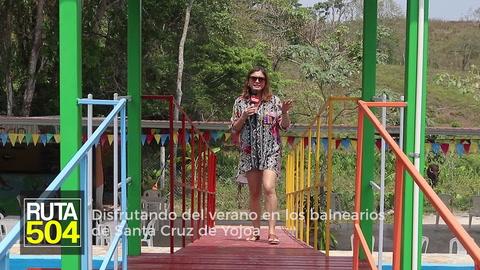 RUTA 504 - Disfrutando del verano en los balnearios de Santa Cruz de Yojoa