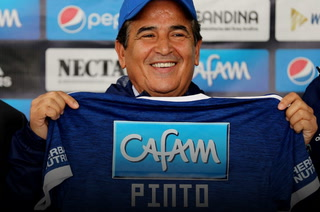 Pinto es presentado en Millonarios: