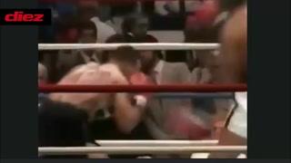 El increíble combate de Mike Tyson en 1986 ¡recibió 20 golpes antes de noquear a su oponente!