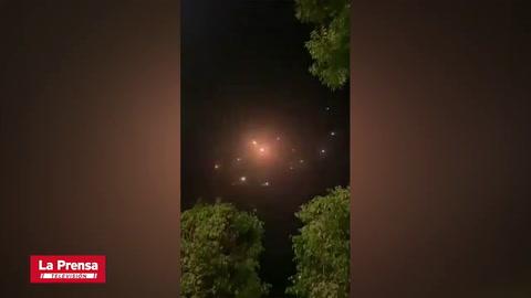 El cielo de Tel Aviv se llena de misiles de Hamas, Cúpula de Hierro los destruye