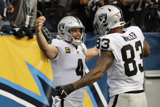 Raiders win in Los Angeles revive playoff hopes – VIDEO