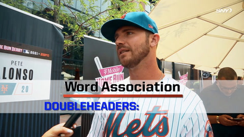 Pete Alonso, Aaron Judge and more play Word Association at All-Star Game