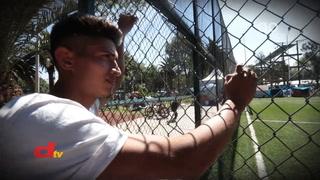 La caravana de futbolistas hondureños que emigran a Estados Unidos