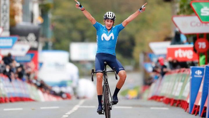 Fenomenal victoria de Marc Soler en La Vuelta tras un gran trabajo de Movistar