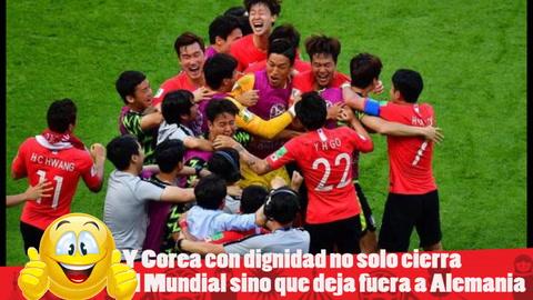 EHmojicrónica: Corea vence a Alemania y lo deja fuera del Mundial