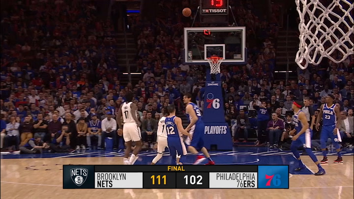 El resumen de la jornada de la NBA del 14/04/2019