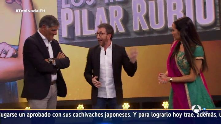 El espectacular baile de Pilar Rubio en El Hormiguero