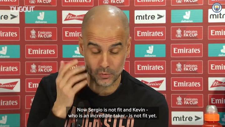 Guardiola: 'Ederson is an option to take penalties'