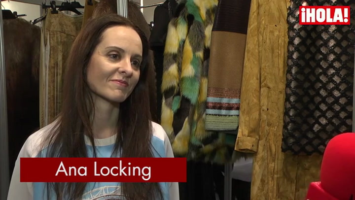 Ana Locking: \'Me gusta experimentar con tejidos muy clásicos pero con acabados vanguardistas\'