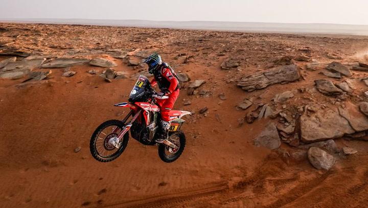Los mejores momentos de la 11ª etapa de motos en el Dakar 2021