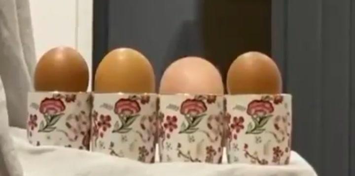 El reto de Pepe Reina: ¿Cuántos huevos hay en la mesa?
