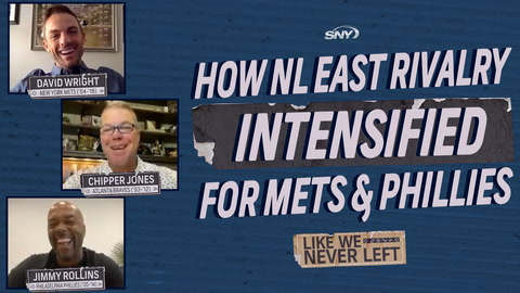 David Wright and Jimmy Rollins recall how crazy things got between Mets and Phillies fans