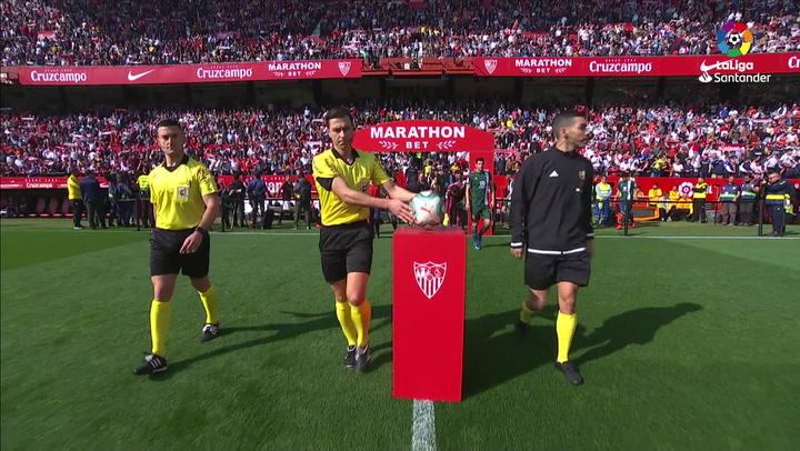 LaLIga (J24): Resumen y goles del Sevilla 2-2 Espanyol