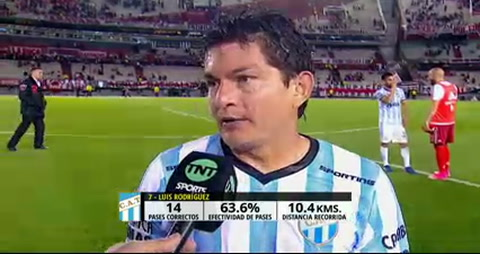 El Pulga Rodríguez le recordó a River su paso por la B Nacional