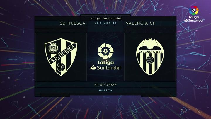 LaLiga (J38): Resumen del Huesca 0-0 Valencia