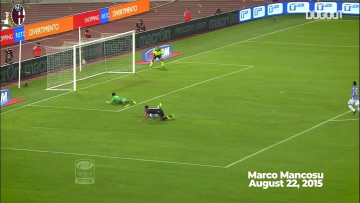 Top três gols do Bologna contra a Lazio