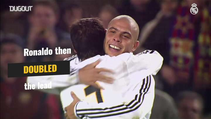 Ronaldo and Roberto Carlos clinch first Camp Nou win in 20 years