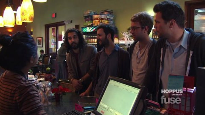 """Shows: Hoppus on Music: Young The Giant """"Coffee Shop"""""""