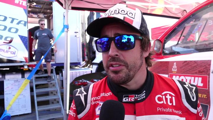 Fernando Alonso explica el motivo de la frustrante avería