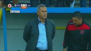 Roger Rojas abre el marcador para Alajuelense 1-0 ante Guadalupe
