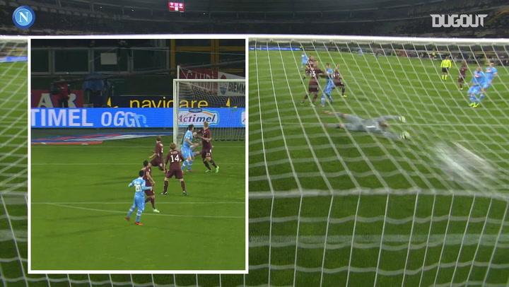 Blerim Džemaili's long range strike vs Torino