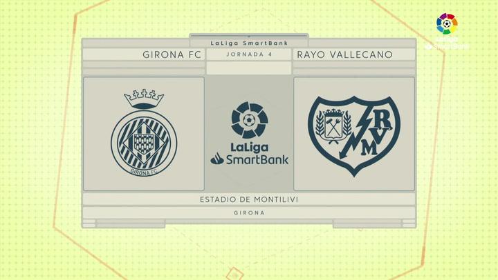 Resumen 90' Girona FC - Rayo Vallecano J4